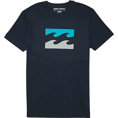 Billabong Men's Contrast Short Sleeve T-Shirt, Navy, X-Large