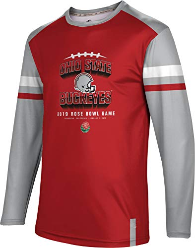 (ProSphere Rose Bowl - Ohio State University Men's Long Sleeve Tee - Old School FF0A)