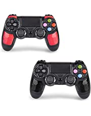 PS4 Controller Wireless Joysticks - Dual Shock 4 Game Remote,Bluetooth DS4 Gamepad,Support Playstation 4,Pro/Slim PS4,PC,PS TVs,Smart TV