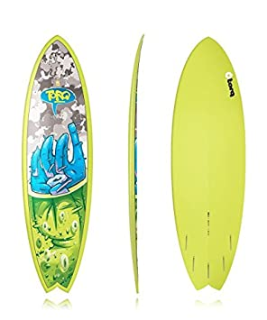 Tabla de surf epoxi Torq 5.11 Fish globo del ojo LTD