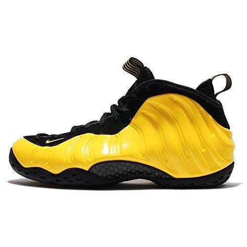 NIKE Air Foamposite One Mens Hi Top Basketball Trainers 314966 Sneakers Shoes (US 7.5, Opti Yellow Black 701)