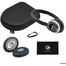 [Patrocinado] CamKix - Funda de repuesto y almohadillas compatibles con QC 35, 2, 15, 25, Ae2, Ae2i, Ae2w, Sound True/Sound Link