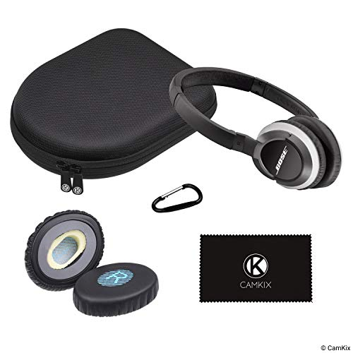 - CamKix Ear Pads Replacement and Protective Storage Case Compatible with Bose On-Ear Headphones - Models: OE, OE2, OE2i - Tough and Lightweight Carry Case - Soft Padded Ear Cushions - Carabiner