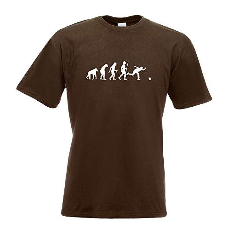 볼링 볼링의 진화 T셔츠 프린트 디자인 프린트 기프트・아이디어