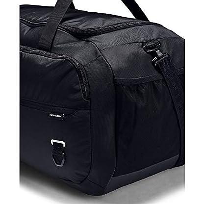 Under Armour Undeniable Duffel 4.0 LG, geräumige Sporttasche, wasserabweisende Umhängetasche Unisex, Schwarz (Black/Black/Silver (001)), Einheitsgröße 5