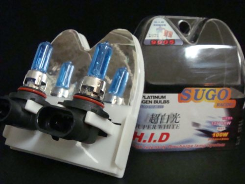 UPC 123456777477, Sugo Racing 9005 Light Bulbs Super White 1 Pair