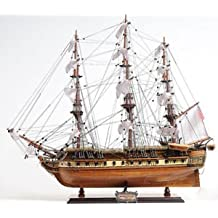 """Uss Constitution Wooden Tall Ship Model 31"""" Old Ironsides Fully Assembled"""