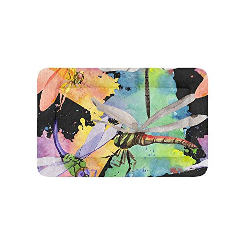 Chawzie Exotic Wild Glass Insect Dragonfly Extra Large Bedding Soft Pet Dog Beds Couch for Puppy and Cats Furniture Mat Cave Pad Cover Cushion Indoor Gift Supplier 36 X 23 Inch