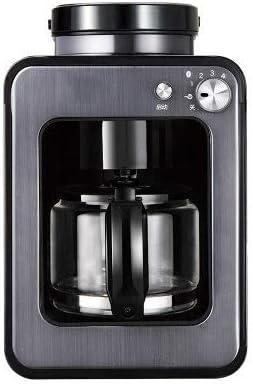 Kylinxsw Cafetera Cafetera Inoxidable Ajuste Funcionamiento silencioso Goteo cafetera con café Pot y Filtro for el hogar y la Oficina (Color : Gray): Amazon.es: Hogar
