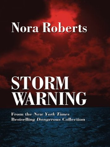 Storm Warning by Brand: Thorndike Press