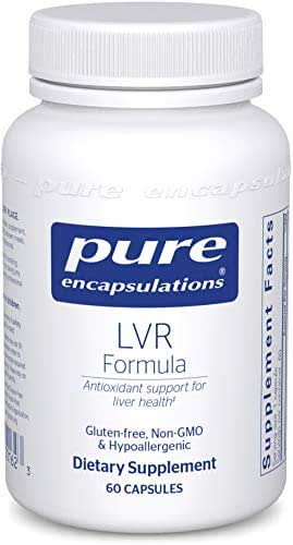 Pure Encapsulations - LVR Formula - Hypoallergenic Supplement with Antioxidant Support for Liver Cell Health* - 60 Capsules
