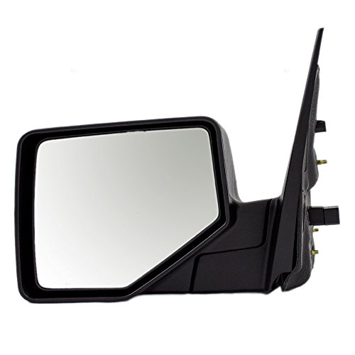 Drivers Power Side View Mirror with Puddle Lamp Replacement for Ford Mercury Pickup Truck SUV 6L2Z17683BAA