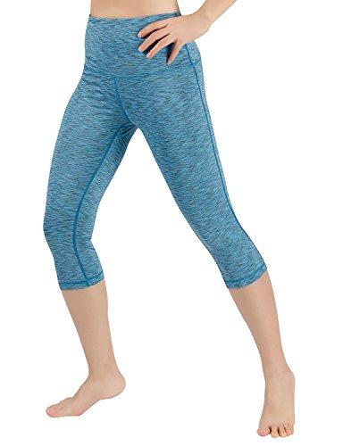 ODODOS High Waist Yoga Pants Tummy Control Workout Running 4 Way Stretch Yoga Leggings with Hidden Pocket