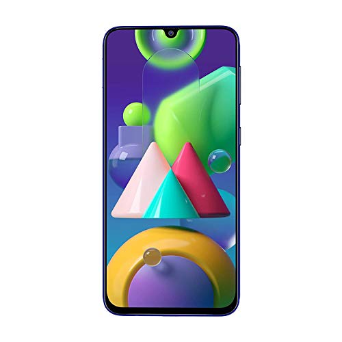 Samsung Galaxy M21 64GB Blue EU [16,21cm (6,4″) OLED Display, Android 10, 48MP Triple-Kamera]