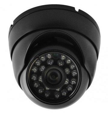B&w Cctv Camera (1080P IR HD-TVI Black DOME SECURITY SURVEILLANCE CAMERA Weatherproof)