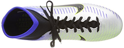 Nike Men's Mercurial Victory Vi Df NJR Fg Football Boots, Blue Blu (Racer Blue Black Chrome Volt 407)