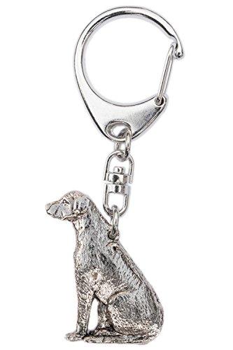 Rhodesian Ridgeback Made in U.K Artistic Style Dog Key Ri...