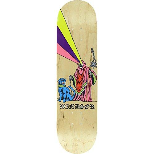 Zero Windsor Boss Dog Skateboard Deck -8.0- ASSEMBLED AS COMPLETE SKATEBOARD