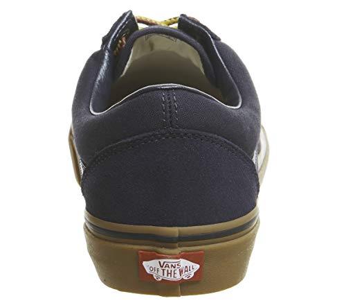 Old Lace Sneaker Vans Boot Captain canvas Skool Unisex Suede Adulto Sky Classic 1wqHOnqXd