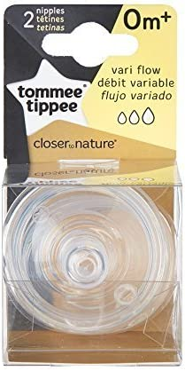 Variable Flow 2-Count Tommee Tippee Nipples