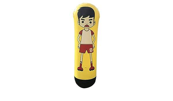 Alftek 1.6 m Hinchable de Entrenamiento de fútbol portería de Wächter de columnas de Stand de Carga de fútbol de Tren de Falsa para niño de Adulto: ...