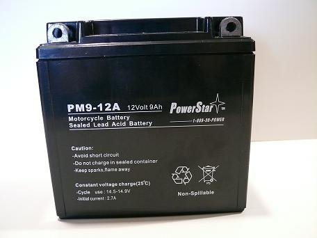 12A A Motorcycle Battery - 3