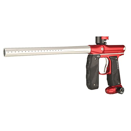 - Empire 17405 Mini GS Paintball Marker, Dust Red/Silver