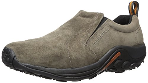Beaded Mesh Slippers - Merrell Men's Jungle Moc Slip-On Shoe,Gunsmoke,9.5 M US