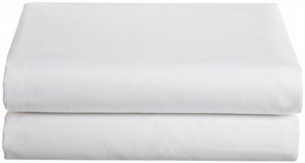 Bella Kline 100% Cotton Jersey Knit Hospital Bed Bottom Fitted Sheet - 2 Pack