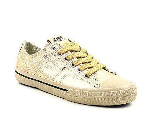 Scarpe Sneaker Britanniche Cavaliere Oro Taglia 37 / Uk 4