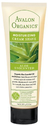 Avalon Cream Shave(Ing) Aloe Unscentd 8 oz ( Multi-Pack) by - Mall Avalon