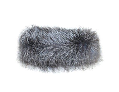 New Fox Fur Headband - 7