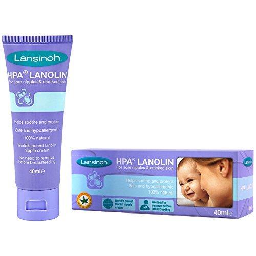 Hpa Lanolin (Lansinoh Hpa Lanolin Nipple Soothing Cream 40ml)