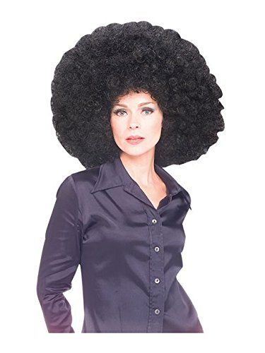 Rubie's Costume Co Oversized Afro Wig, Black, Standard]()
