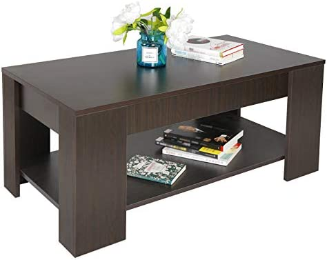 home, kitchen, furniture, living room furniture, tables,  coffee tables 11 on sale ZENY Lift Top Coffee Table with Hidden Compartment in USA