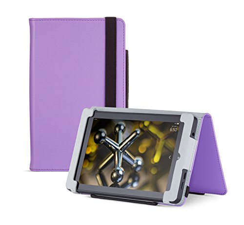 Fire HD 6 Case (2014 model), Purple,  Nupro, Standing Case, Protective Cover (4th Generation: 6