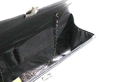 Borsetta donna linea slim Michelle moon hd647 nero Descontar Mejor Tienda Para Comprar Venta Footlocker Fotos Venta Libre Del Envío En Línea 9vlkd4