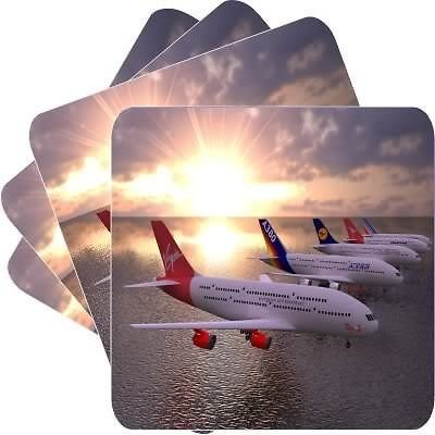 new-set-of-4-airbus-a380-square-coasters