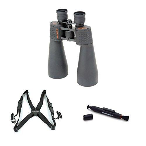 Celestron 15x70 SkyMaster Binocular with LensPen Cleaning Tool and Binocular Harness