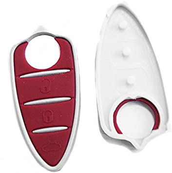 PHONILLICO Car Key Replacement For Alfa Brera Giulietta GTA Mito Romeo Flip Keychain with 3 Buttons Blade