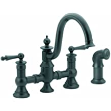 moen black kitchen faucet