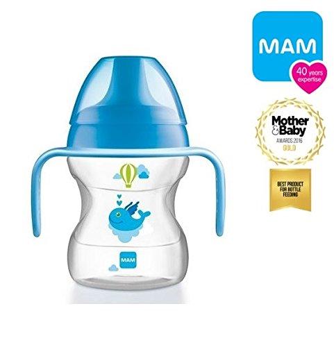 MAM tasse d'apprentisage 6mois + bec souple 190 ml bleu MAM HUNGARY