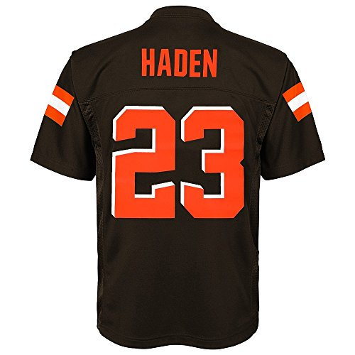 Home Nfl Replica Jersey - Outerstuff Joe Haden NFL Cleveland Browns Mid Tier Home Brown Replica Jersey Youth (S-XL)