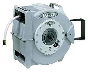 """Legacy L8346 Levelwind 5/8"""" x 50' Retractable Garden Hose Reel"""