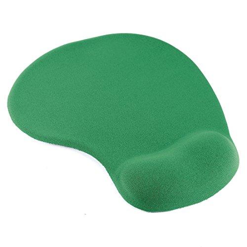 uxcell Dark Green Comfort Wrist Gel Rest Support Mouse Pad Mat for PC Desktop