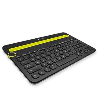 Logitech K480 Teclado para móvil Negro Bluetooth - Teclados para móviles (Negro, Apple, Android,iOS, Batería, AAA, Inalámbrico): Amazon.es: Informática