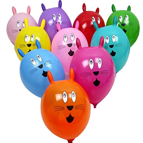 UJuly Balloons for Balloon Animals Rabbit, Inflatable Balloons for Birthday Party Decoration random delivery