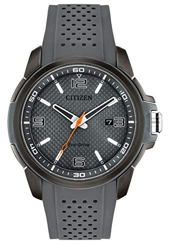 Citizen Watches Men's AW1157-08H Eco-Drive Grey One Size