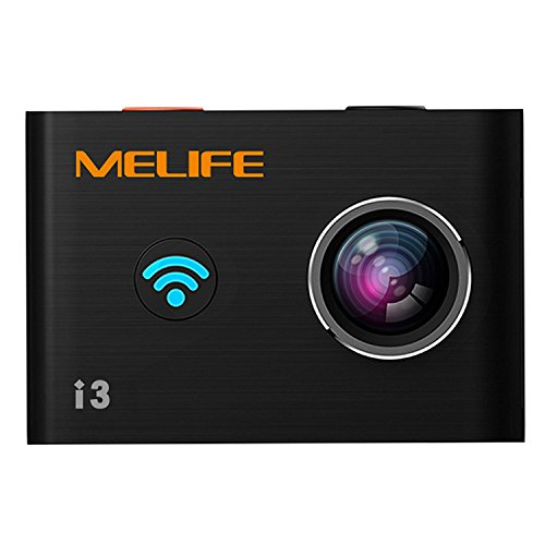 Melife Action Camera Ultra HD with Wrist Remote Control 4K Wifi 14MP Waterproof Action Cameras
