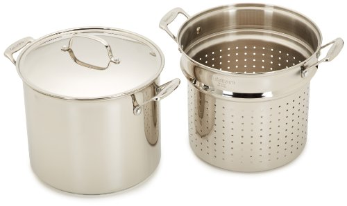 Cuisinart 77-412 Chef's Classic Stainless 4-Piece 12-Quart Pasta/Steamer Set by Cuisinart (Image #2)